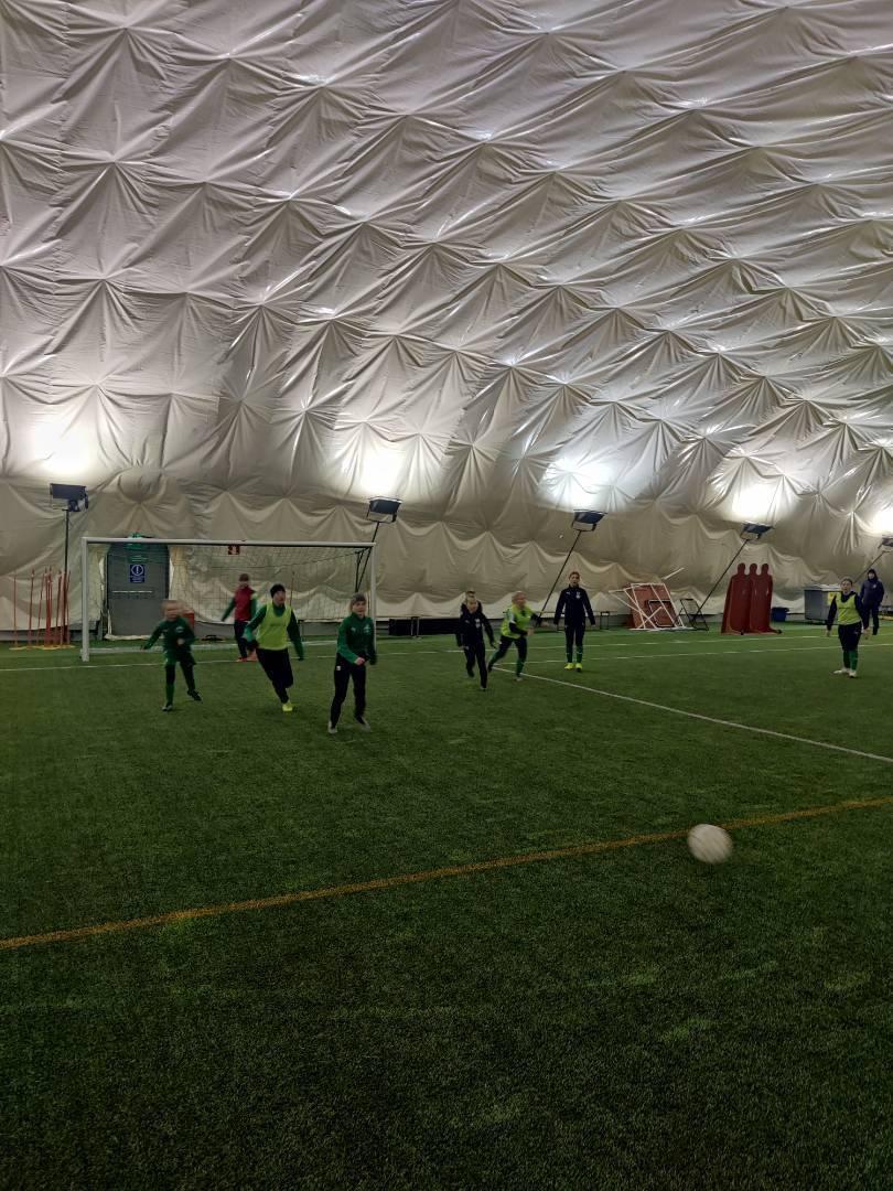 Yhteiset treenit FC Siilin kanssa