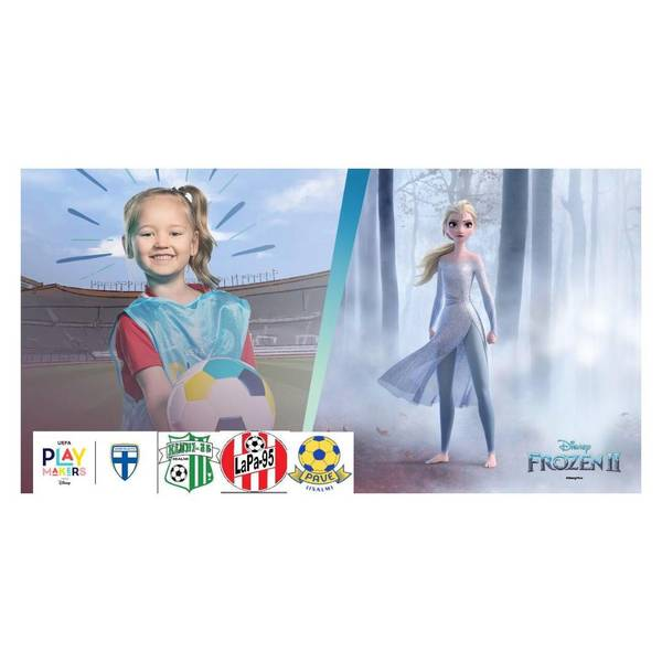 UEFA Playmakers -toiminta innostanut huikean määrän tyttöjä mukaan!