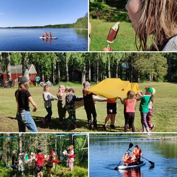 11-12 joukkue SalaMaan seikkailussa aloittamassa kesäkautta