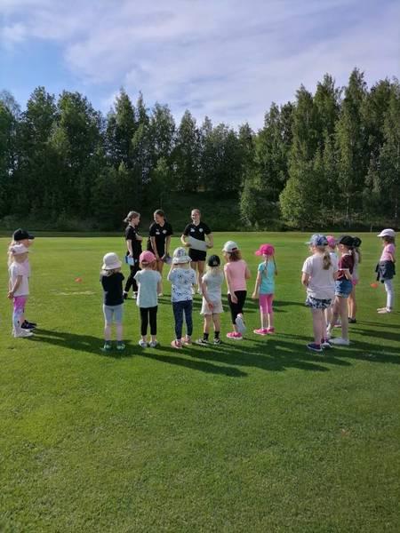 Jalkapallotoiminta aloitettiin Sonkajärvellä
