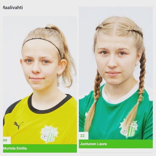 Emilia ja Laura Helmariturnaukseen