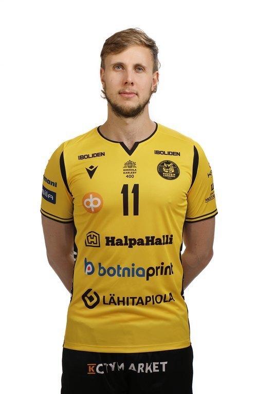 Antti Leppälä jatkaa Kokkolan Tiikereissä kaudella 2021-2022