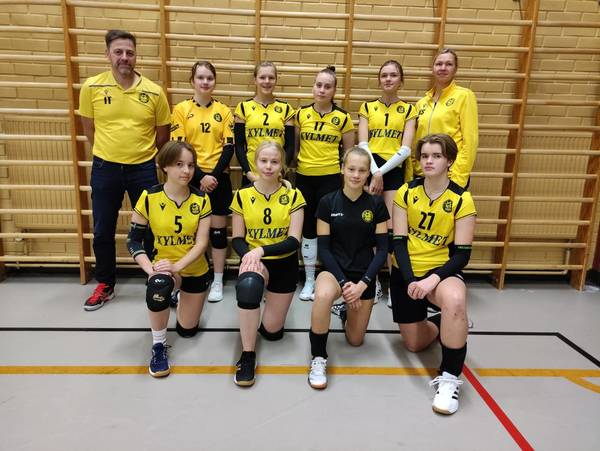 Tiikerit B-tytöt joukkue 2021-2022