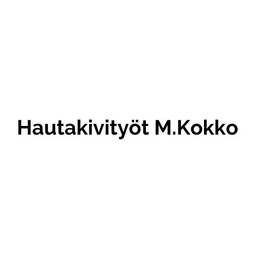 Hautakivityöt M.Kokko