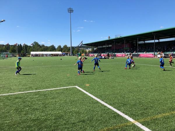 KJP Kumu JT-14 ensi kertaa Lahti Soccerissa