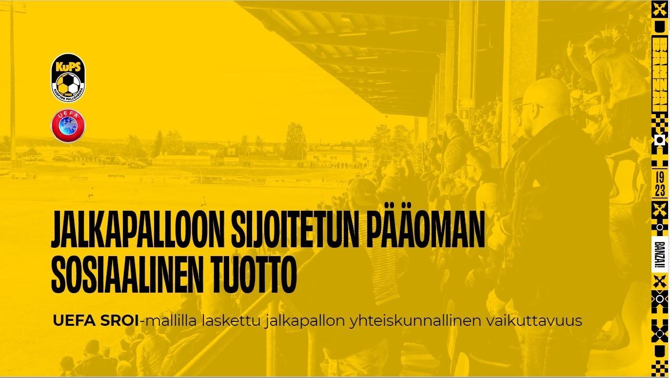 KuPS tuo 12,4 M€ hyödyt yhteiskunnalle vuosittain.