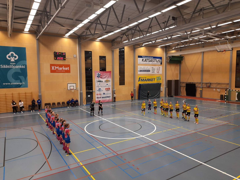 Naisten Futsal Ykkönen, Kausi avattu voitolla