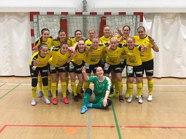 KuPS jatkaa voitolla  Naisten Futsal Ykkösessä