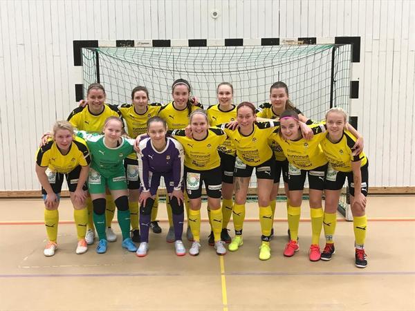 KuPS:lle kolmas voitto Naisten Futsal Ykkösessä