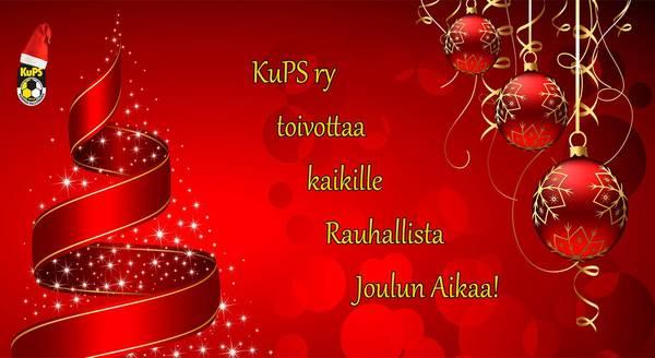 KuPS ry toivottaa kaikille Rauhallista Joulun Aikaa!