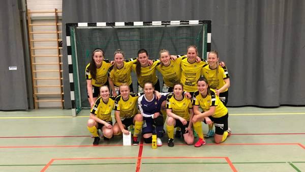 Voittoputki jatkuu - Jo kahdeksas voitto peräkkäin. Naisten Futsal Ykkönen