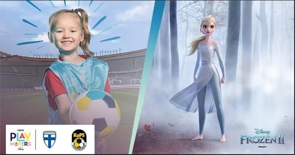 Mimmiliiga Playmakers alkaa - Tule tutustumaan jalkapalloon Frozen 2 tarinan mukana!