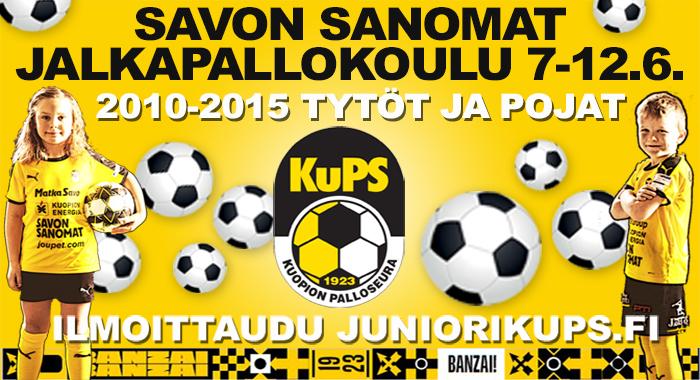 Savon Sanomat jalkapallokoulu kesäkuussa!