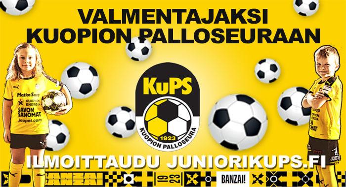 Valmentajaksi Kuopion Palloseuraan