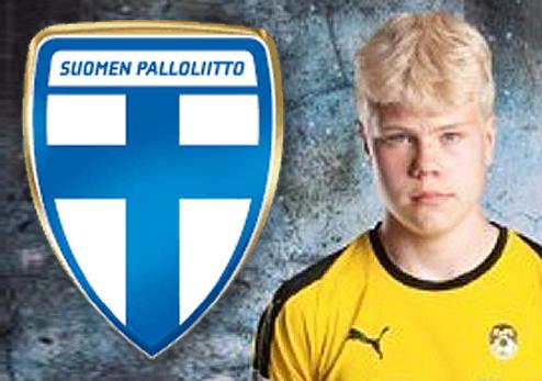 Otto Ruoppi tehokkaana Suomi-Islanti U16 maaotteluissa Mikkelissä