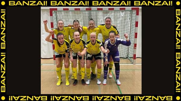 Futsal Naiset ykkösen B-lohkon kärkeen!