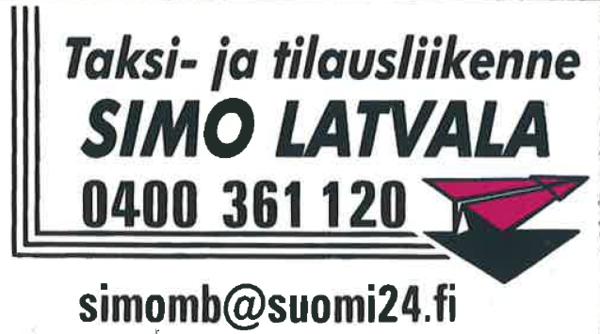 Taksi-ja tilauspalvelu Simo Latvala