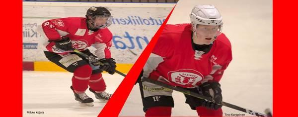Kojola jatkosopimukseen ja uutena sopimuspelaajana joukkueeseen Karppinen.