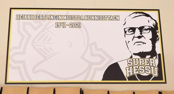 Heikki Bertlingin muistoa kunnioittaen.