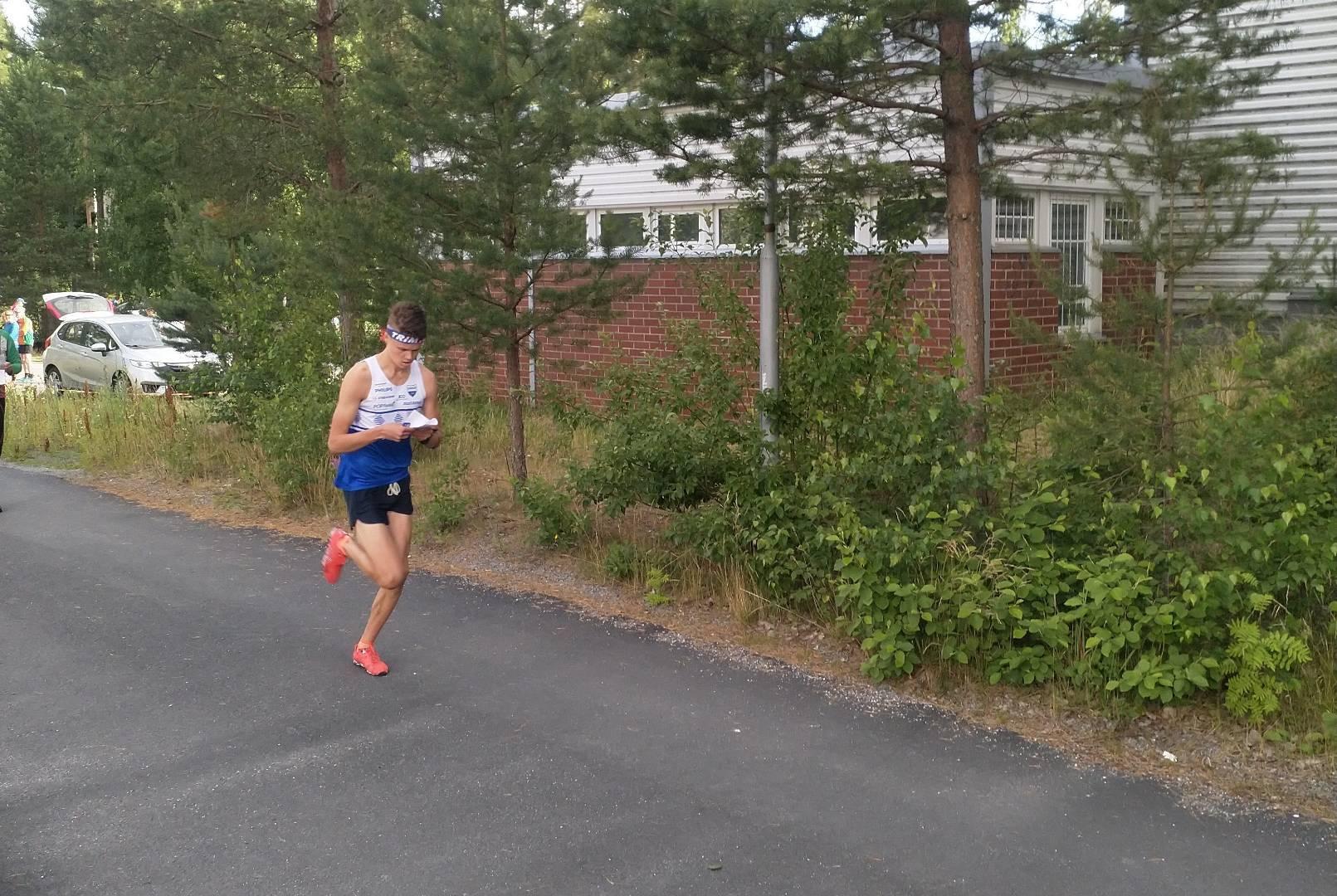 Tampere Sprint Tourin 2- osakilpailu suunnistettu