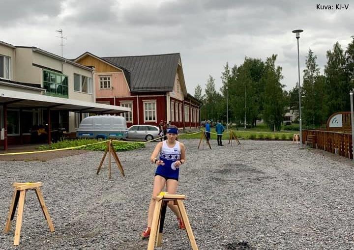 Markki-sprinttiä Kortesjärvellä