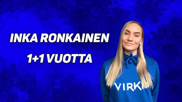 Inka Ronkainen edustaa Virkiää kaudella 2021!