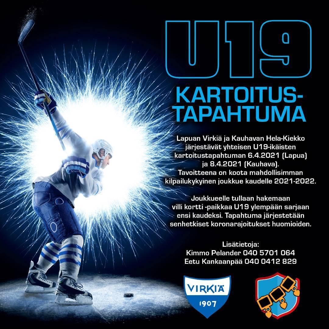 U19 kartoitus kaudelle 2021-2022