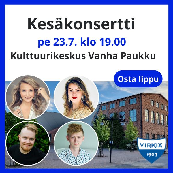 Kesäkonsertti - Marita Taavitsainen & Charlotta Saari