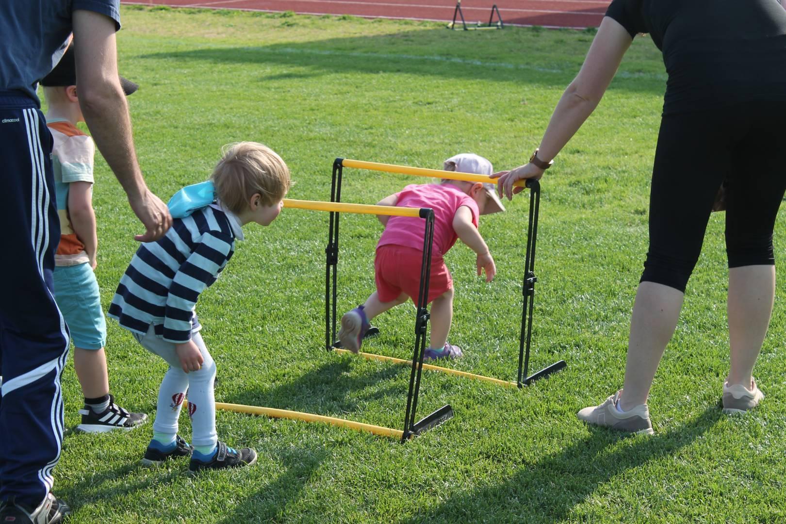 Avoimet harjoitusvuorot urheilukentällä!