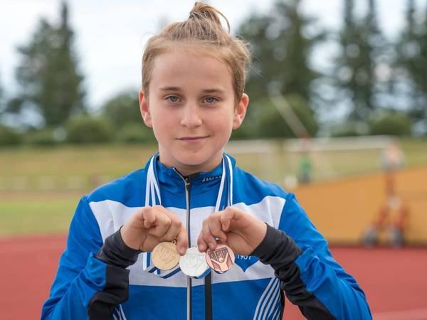 Piirinmestaruuskisojen pieni joukkue keräsi lähes 50 pistesijaa!