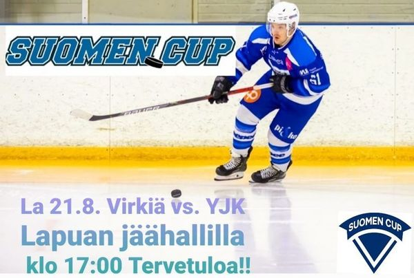 Suomen cup alkaa 21.8.2021