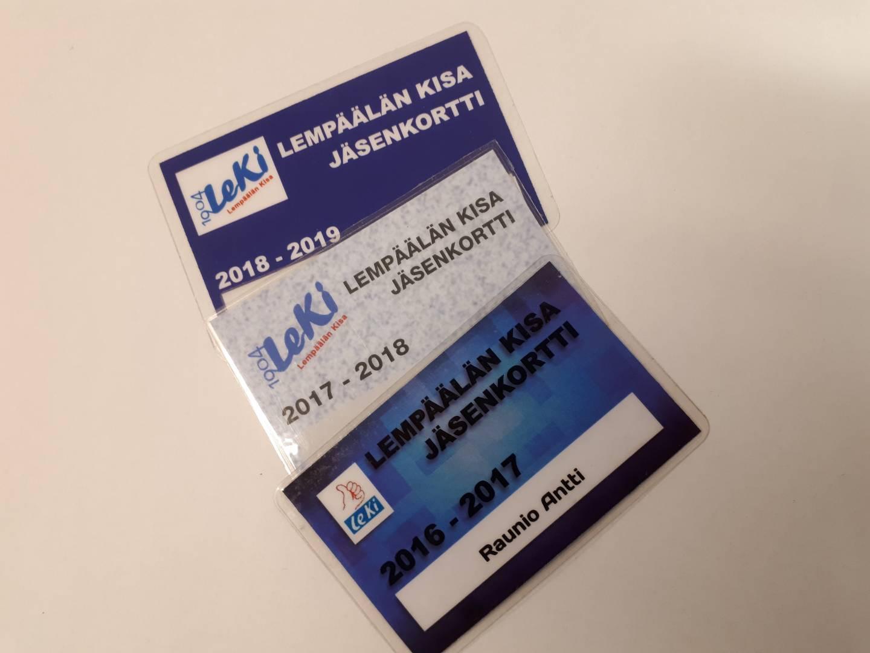 Näin saat LeKin uuden sähköisen jäsenkorttisi käyttöön