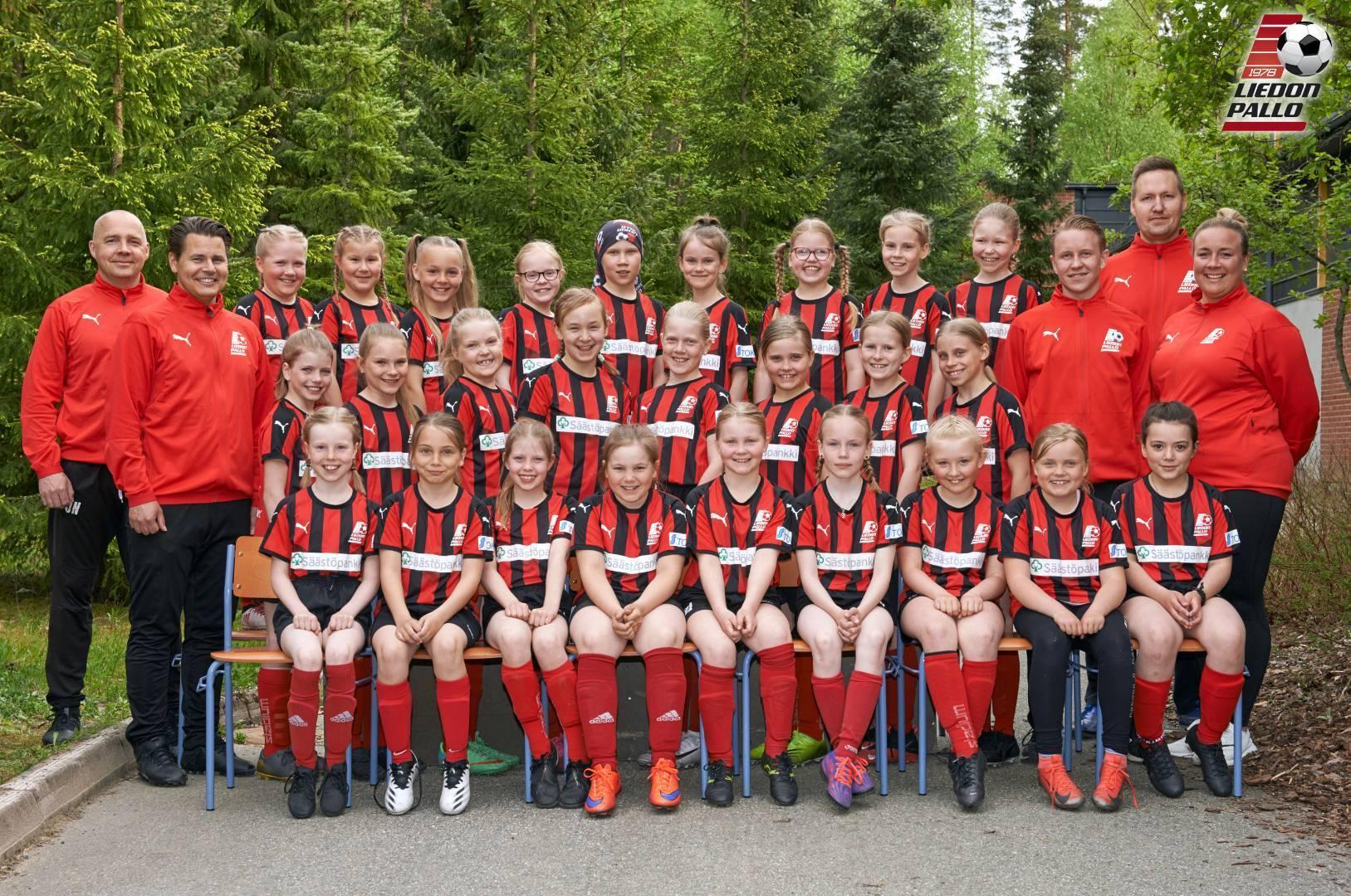 Tervetuloa joukkueeseen 2011-2012- syntyneet tyttöfutarit!