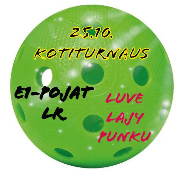 SB LuVe White, E1 Kotiturnaus 25.10!