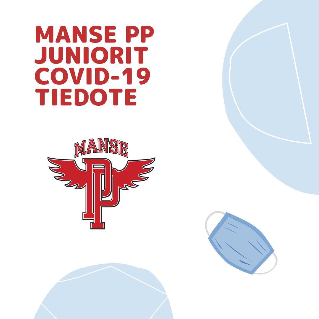 Manse PP junioreiden korona linjaukset 11.1.2021 alkaen