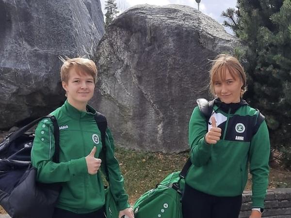 Anni & Nette -07 Helmarilopputurnauksessa