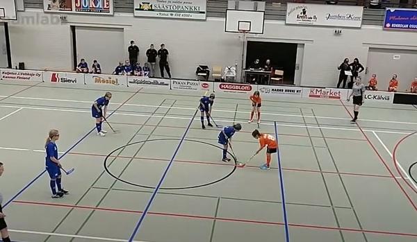 SB Vaasa Oranssi - Nibacos Valkoinen