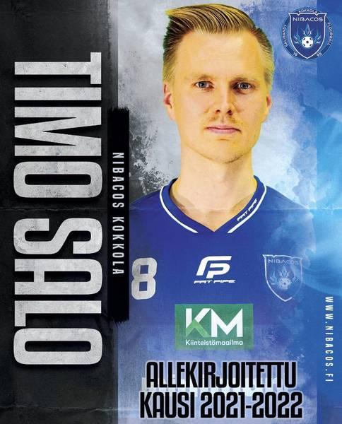 Viime kauden kapteeni Timo Salo sopimukseen