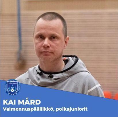 Kai Mård, valmennuspäällikkö poikajuniorit, kausi 2021-22