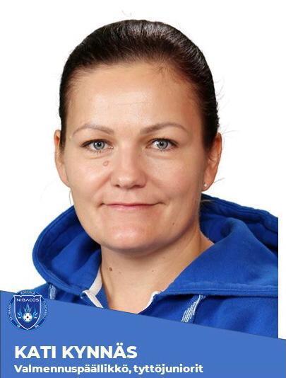 Kati Kynnäs, valmennuspäällikkö, tyttöjuniorit, kausi 2021-22