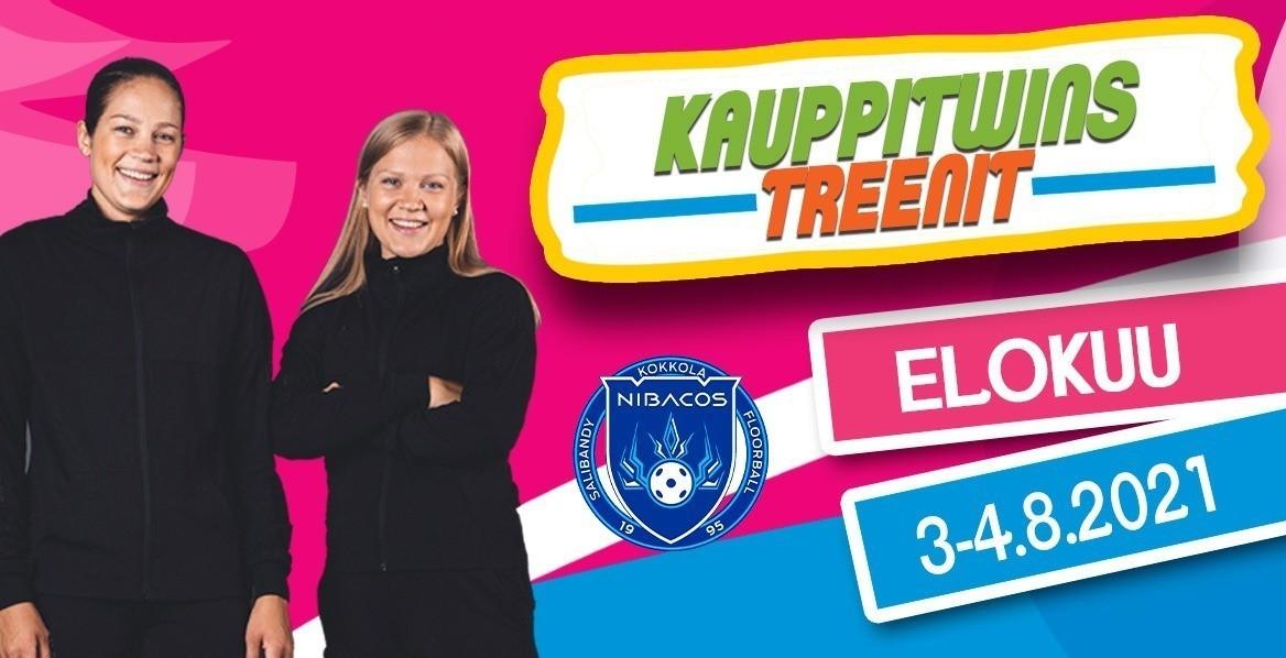 KauppiTwins -treenit Oona ja Veera Kaupin kanssa 3-4.8 Kampushallilla