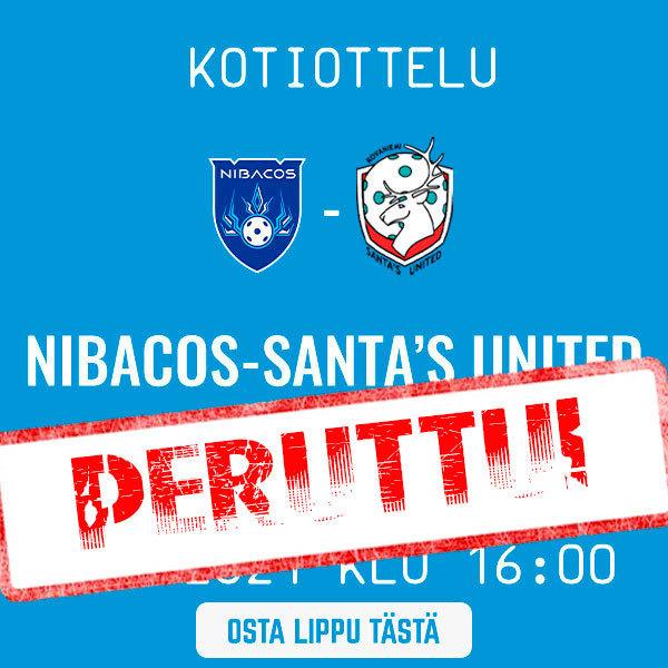 Suomisarjan avaus siirtyy, Santa's United luopui sarjasta