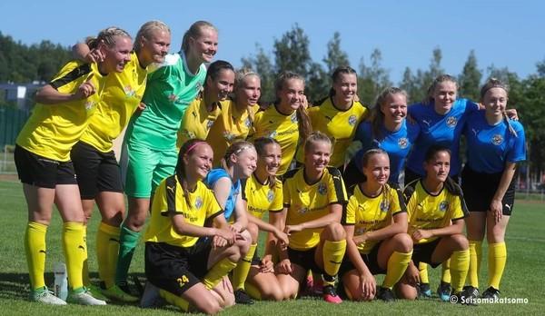NJS Naisten Edustus Kansallisen liigan nousukarsintaan!