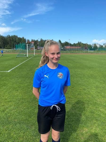 Senja Haikola nimetty U16-maajoukkueleirille