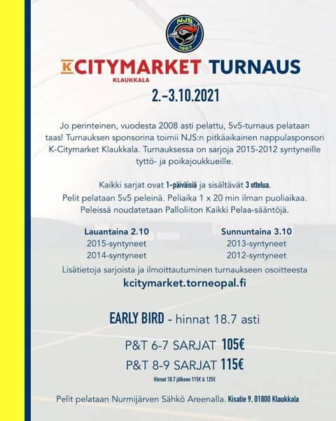 K- Citymarket Klaukkala turnaus