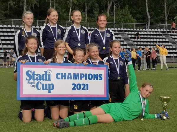 Stadi Cup 2021 - Siniset D13 yleissarjan voittoon