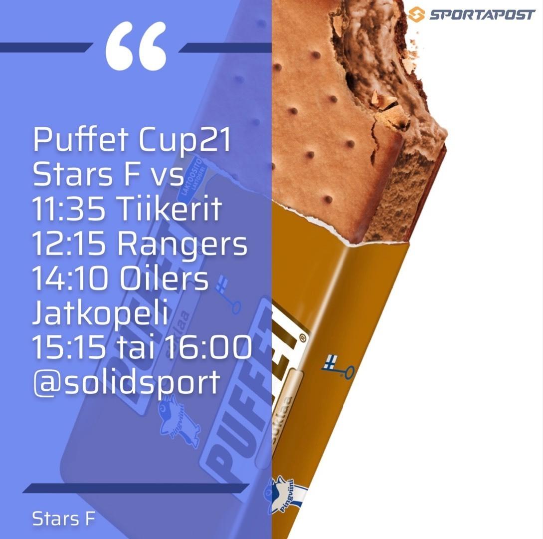 Puffet Cup 21 Sunnuntaina Stars F
