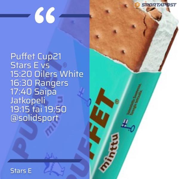 Puffet Cup 21 Sunnuntaina Stars E