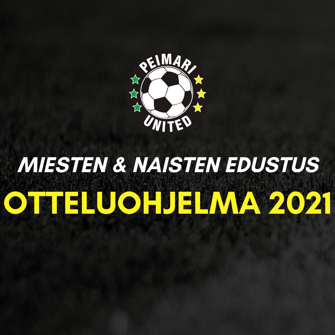 Miesten & naisten edustusjoukkueiden otteluohjelmat