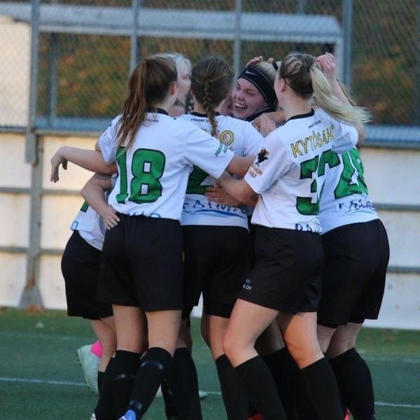 Naiset aloittivat taistelunsa yläloppusarjassa 1-1 tasapelillä Turun Pyrkivää vastaan!